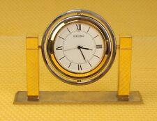 "Vintage SEIKO ""QHG355F"" Desk/Shelf Clock MADE IN JAPAN <VGU>"