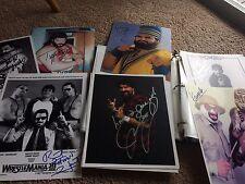 Mankind Mick Foley Cactus Jack Signed HOF WWF WWF WCW ECW NWA 8x10 Promo Photo