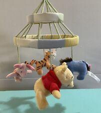 Disney Baby Winnie The Pooh Peeking Pooh Tigger Plush Mobile Crib Nursery Decor