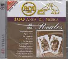 CD - Los Dos Reales NEW 100 Anos De Musica 2 CD's 40 Temas FAST SHIPPING !