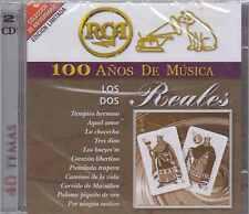 CD - Los Dos Reales NEW 100 Anos De Musica 2 CD's 40 Temas FAST SHIPPING !