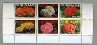 Surinam 2008 Blüten Blumen Pflanzen Flora Ixora Blossoms Flowers 2254-2259 MNH