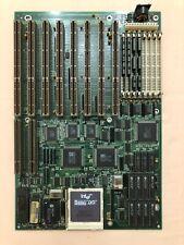 EISA bus motherboard SL486VE, Socket 3, Intel 486DX2-66MHz, 4MB RAM. Rare