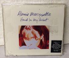 "ALANIS MORISSETTE ""Hand In My Pocket"" + 2 Live (Import CD-Single 1995) Sealed"