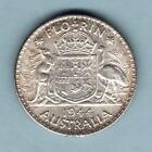 Australia. 1944-S Florin.. UNC