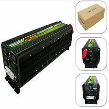 NEW LED display 5000W Watts10000W(peak) 12v To 220v Power Inverter+Charger & UPS
