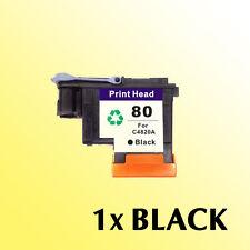 1x For HP80 Black Printhead C4820A Designjet Printers 1050c Plus 1055cm 1055cm