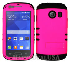 For Samsung Galaxy Ace Style S765c - KoolKase Hybrid Cover Case - Hot Pink (FL)