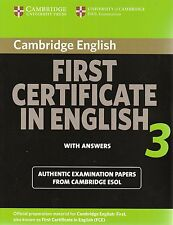 Cambridge certificado de primera en inglés 3 Fce W respuestas | ESOL examen @NEW @