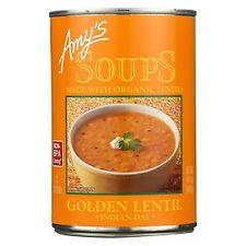 Amy's Soup Organic Lentils - Golden 14 oz ( Pack Of 4 )