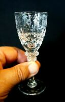 Beautiful Rogaska Gallia Crystal Cordial Glass