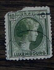 Nice Vintage Used Luxembourg 10 C Stamp, GOOD COND - 1940's