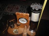 Orologio da tavolo con torre medievale - non funzionante ma riparabile - 1900