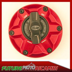 EVOTECH Fuel Cap Quick Release Triumph Speed Triple T955 Rapid Gas Cap