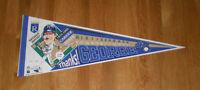 1993 George Brett ROYALS 3154 Hits pennant w/ stats! LE HOFer Kansas City