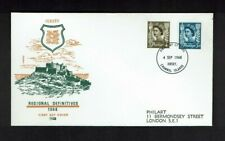 Jersey: 1968, 4d & 5d Regional definitive on Philart first day cover