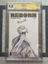 CGC 9.8 Reborn #1 NYCC exclusive, Mark Millar signed