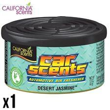 CALIFORNIA CAR SCENTS DESERT JASMINE AIR FRESHENER HOME VAN OFFICE TAXI x 1