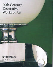 Sotheby's 20th Century Decorative Works of Art - Bugatti, Cameo / Austrian Glass