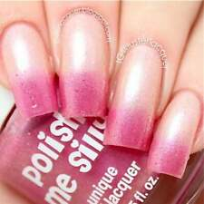 Blushing From Ear to Ear - -Color Changing Thermal Nail Polish Polish Me Silly