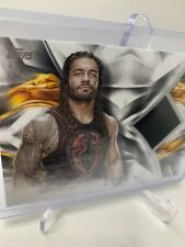 2019 TOPPS WWE UNDISPUTED ROMAN REIGNS RELIC /99 NEW MINT