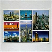 Dubai 7 Views 2008 Postcard (P432)