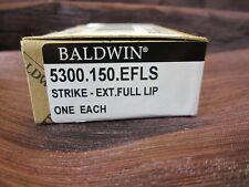 Baldwin 5300.Efls Extended Full Lip Strike Thick Doors, Satin Nickel New in Box