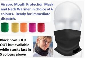 Virapro Mouth Protection Mask and Neck Warmer