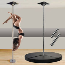 PLATINUM POLES™ 45mm Spinning / Static Pole Dancing Pole & Mat Packages