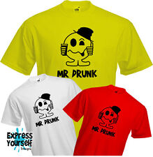 MR DRUNK - T Shirt, Drinking, Pub, Party, Funny, Present, Men, Quality, NEW