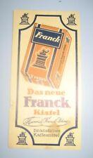 Franck coffee advertising Franck Kistel Germany Kingdom Yugoslavia 1930