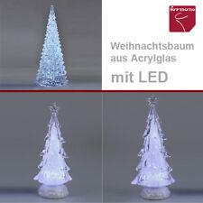 Formano Deko Baum Pyramide beleuchtet LED Stern Weihnachten klar Acryl NEU Tanne