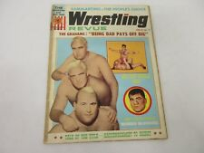 Vintage 1965 Wrestling Revue Magazine The Graham Brothers Wahoo McDaniel