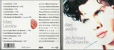 CD 11T MARC  LAVOINE LES AMOURS DU DIMANCHE DE  1989 TRES BON ETAT