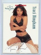 2002 BENCHWARMER TRACI BINGHAM BOX TOPPER AUTOGRAPH