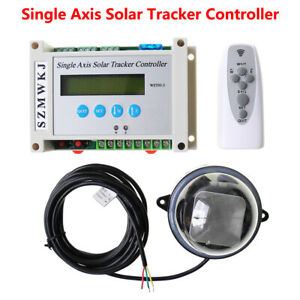 Single Axis Solar Tracker LCD Controller for Solar Panel Tracking Track Kits IG