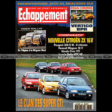ECHAPPEMENT N°348 VW GOLF VR6 CIVIC VTi MEGANE 306 S16 R5 TURBO ALPINE A110 1996