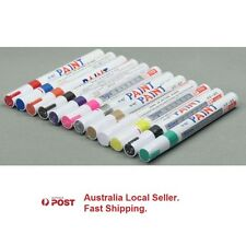 High quality Permanent Paint Marker Waterproof Fast Drying 10 Colours Set