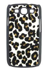 Hardcase Leopard Glitter für Samsung i9300 Galaxy S3 weiß Hülle Cover Etui Case