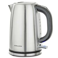 Argentum Electric Kettle with Filter Stainless Steel Fast Quiet Boil 1.7L 3KW