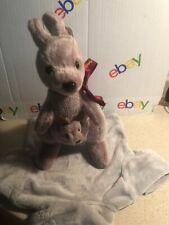 I love Australia Kangaroo & Baby Plush Soft Toy Stuffed Animal