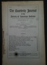 Quarterly Journal  of the Society of American Indians - January - March 1915