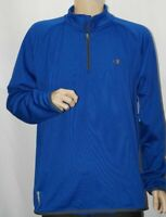 NWT Champion Duofold Warm Control 1/4 Zip Pullover Men's Shirt Blue XL