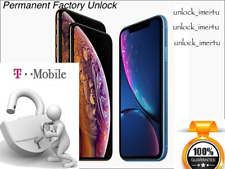 T-Mobile iPhone XR official Permanent Factory Priority Unlock Service 100% Legit