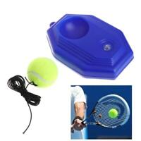Tennis Ball Trainer Tool Racket Practice Octagon Baseboard Elastic Rope Sparring