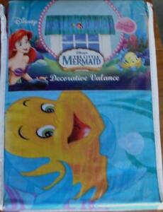 Disney's The Little Mermaid Decorative Valance - BRAND NEW IN PACKAGE - CUTE