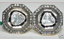 Diamond Victorian Look Stud/Earring 1.20ct I/Si Diamond/Solitaire Uncut