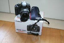 Fotocamera Canon EOS 550D reflex digitale + obiettivo 18-55 IS + sd 16gb + scato
