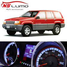 Led Blanco Válvula Tablero Velocímetro Bombillas Kit para Jeep Cherokee XJ