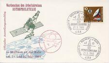 Duitsland / Germany - Cover - Mülheim a.d. Ruhr / Astronomy / Satellite (1966)